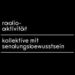 radio-aktivität kollektive mit sendungsbewusstsein Logo