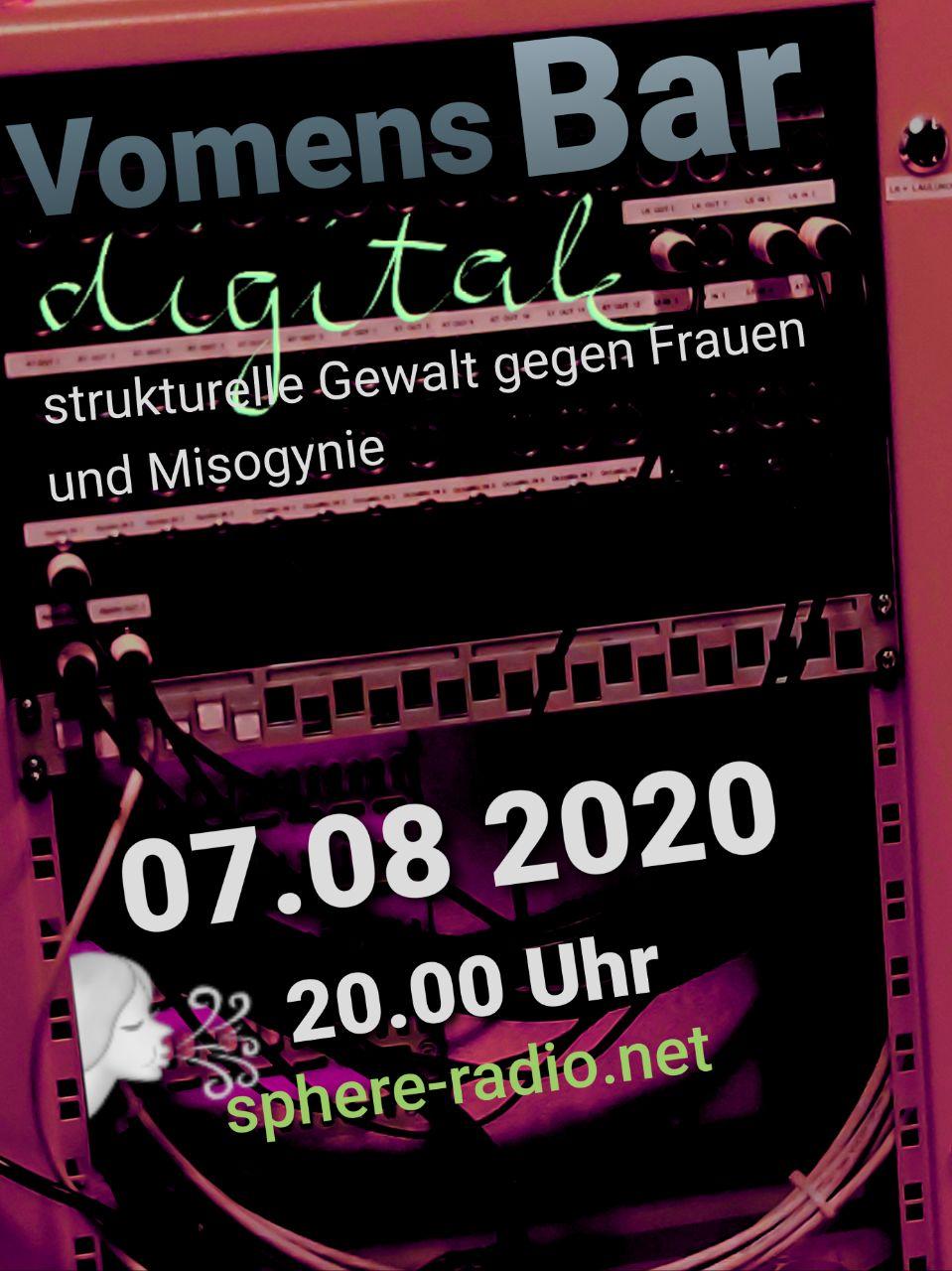 Vomens Bar Digitale: strukturelle Gewalt gegen Frauen und Misogynie
