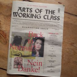 Titelblatt Arts Of The Working Class #11