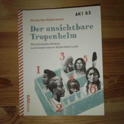 Cover von Der unsichtbare Tropenhalm. Zeichnung von verschiedene Köpfe in die Kiste gesteckt und nummeriert